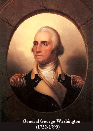 George Washington by Peale